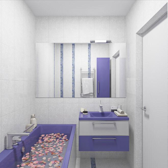 Как максимально красиво сделать маленькую ванную (2)