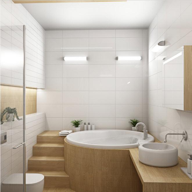 Как максимально красиво сделать маленькую ванную (3)