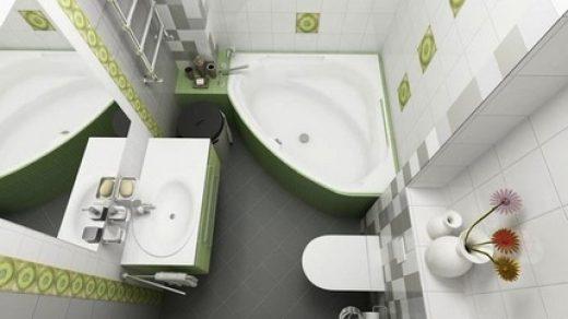Как максимально красиво сделать маленькую ванную (6)