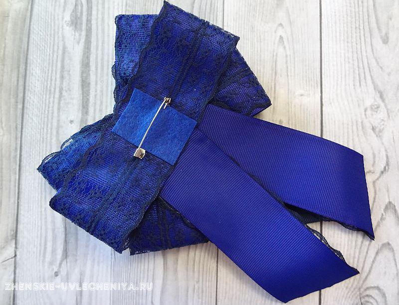 Канзаши школьный галстук - красивые фото (10)
