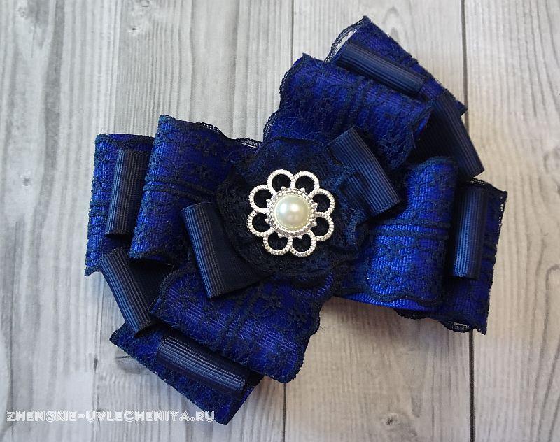 Канзаши школьный галстук - красивые фото (11)