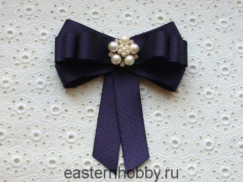 Канзаши школьный галстук - красивые фото (5)