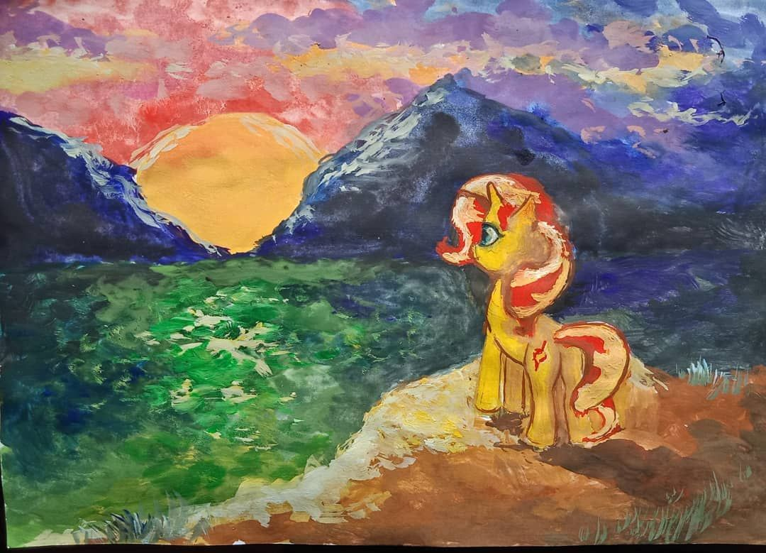 Картинки Май литл пони Сансет Шиммер (1)