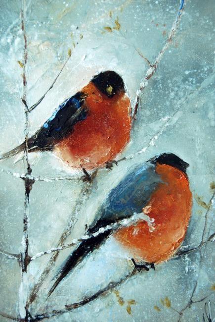 Картинки Снегири и Рябина (4)