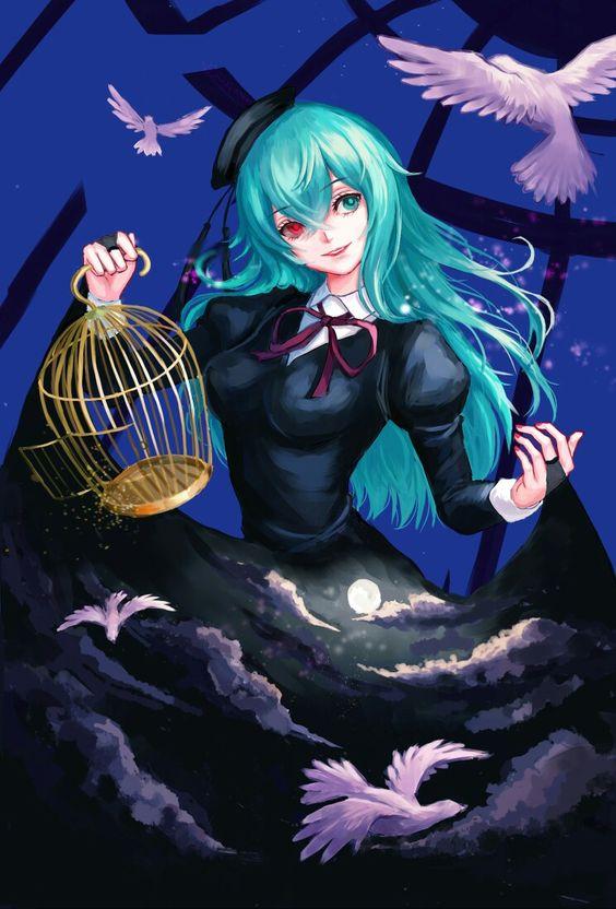 Картинки Токийский Гуль Сова - красивые арты (17)