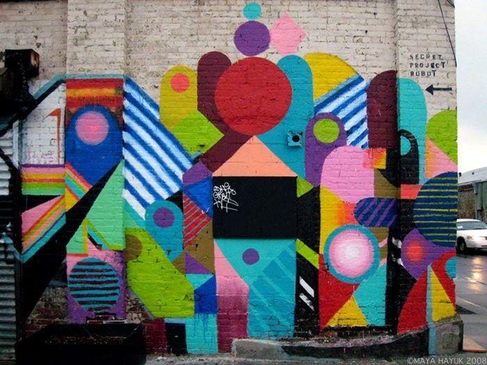 Картинки в стиле стрит-арт - подборка фото (8)