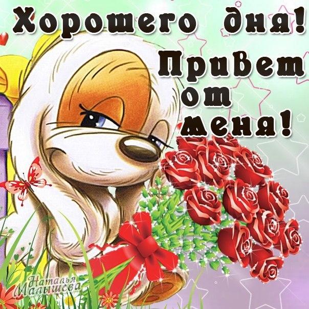 Картинки для девушки доброе утро хорошего дня - подборка (11)