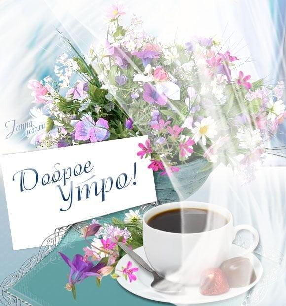 Картинки и открытки доброе весеннее утро - 20 фото (12)