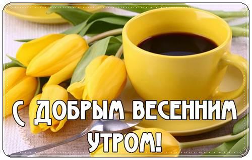Картинки и открытки доброе весеннее утро - 20 фото (22)