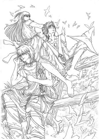 Картинки карандашом Токийский Гуль - 20 рисунков (15)