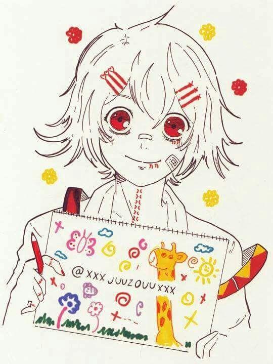 Картинки карандашом Токийский Гуль - 20 рисунков (19)
