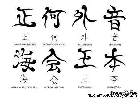 Картинки китайские иероглифы тату (3)