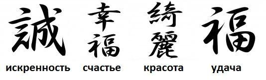Картинки китайские иероглифы тату (5)