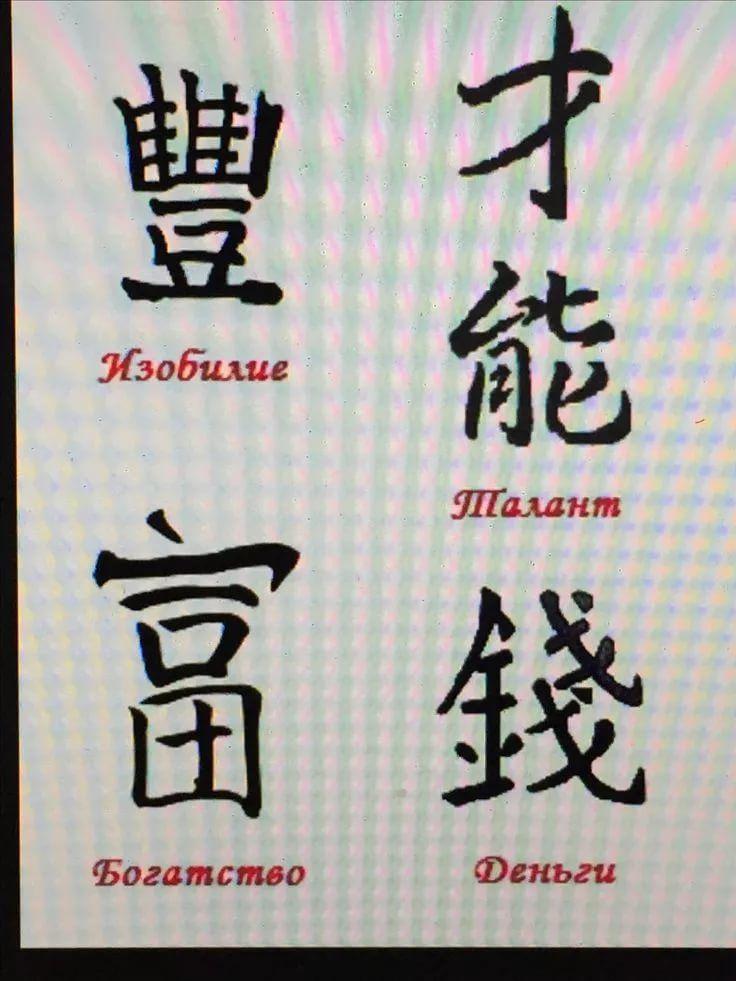 Картинки китайские иероглифы тату (8)