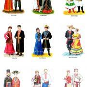Картинки костюмов народов России для детей (24)