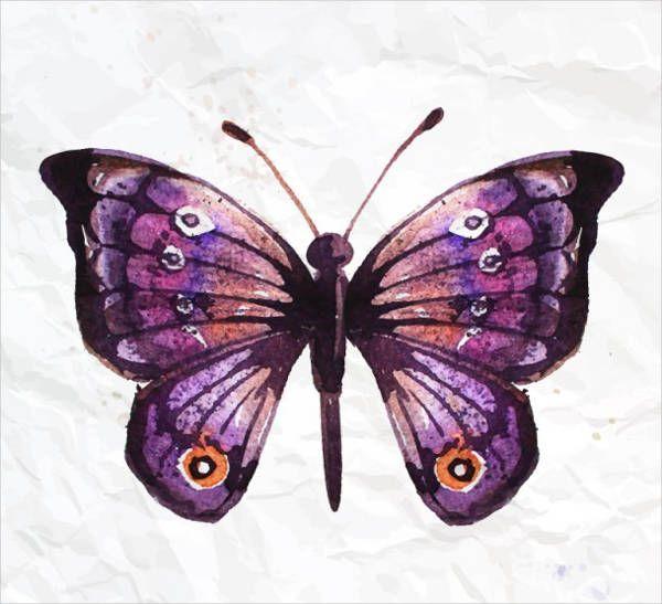 Картинки красивые бабочки нарисованные - подборка изображений (12)