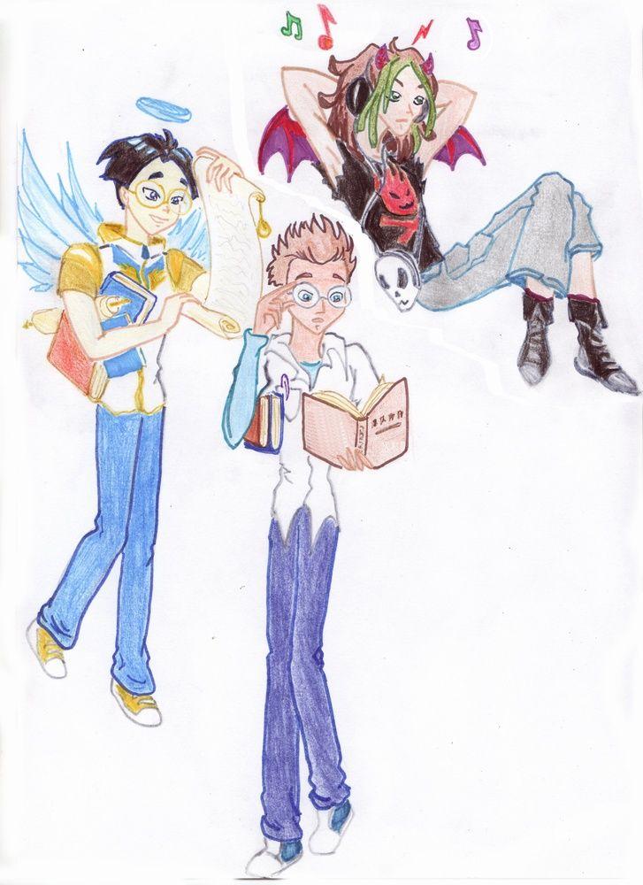 Картинки мультфильм Друзья ангелов (10)
