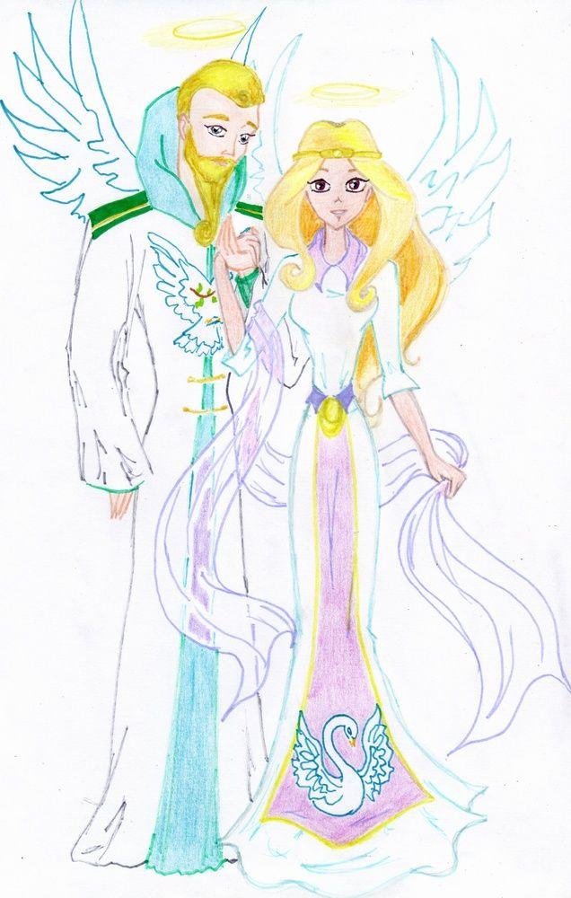 Картинки мультфильм Друзья ангелов (12)