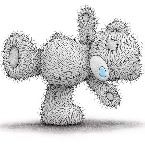 Картинка штопаный мишка