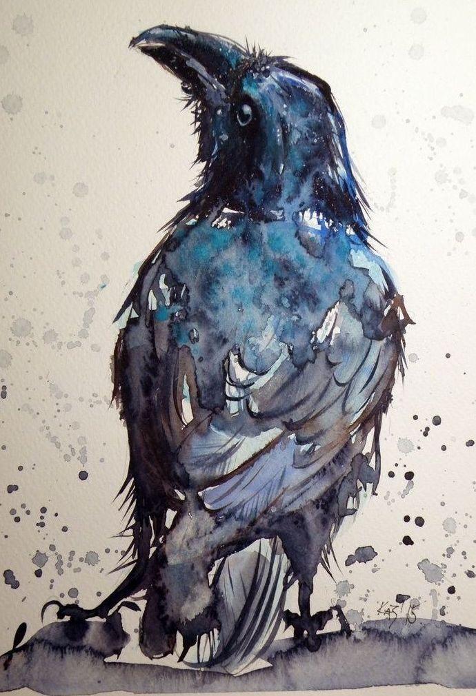 Картинки нарисованные карандашом птицы (2)