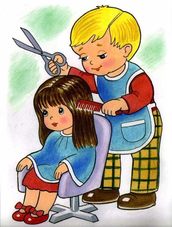 Картинки парикмахерская детские - подборка (15)