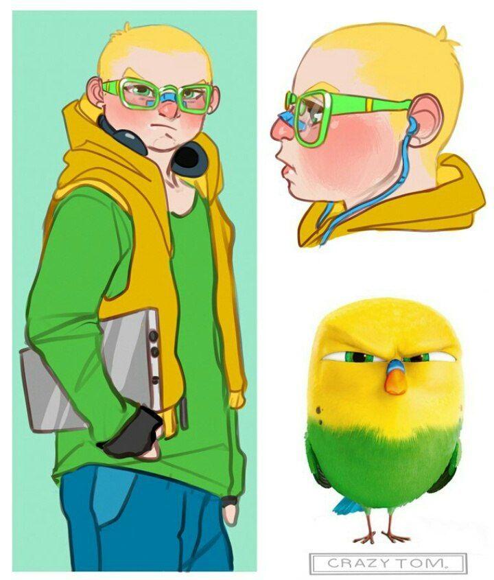 Картинки персонажей нарисованных - подборка (14)