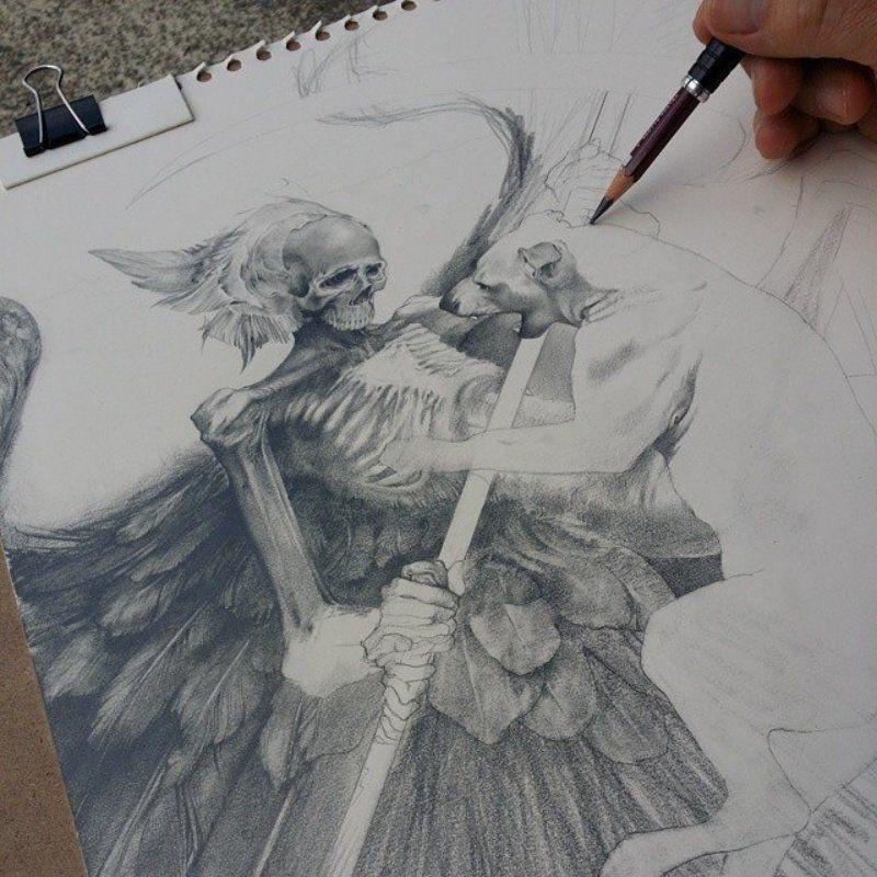 Картинки персонажей нарисованных - подборка (7)