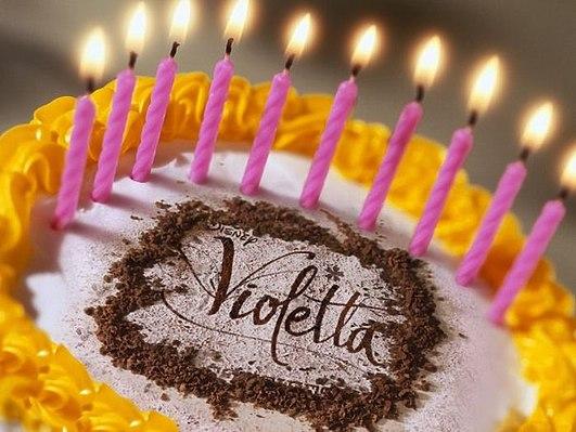 Картинки поздравления с Днем Рождения Виолетта (17)