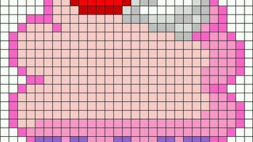 Картинки по клеточкам кекс   подборка (6)