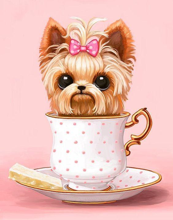 Картинки про собак карандашом - подборка (13)