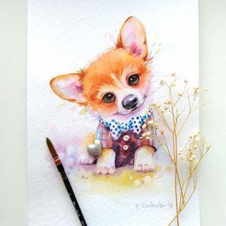 Картинки про собак карандашом - подборка (26)