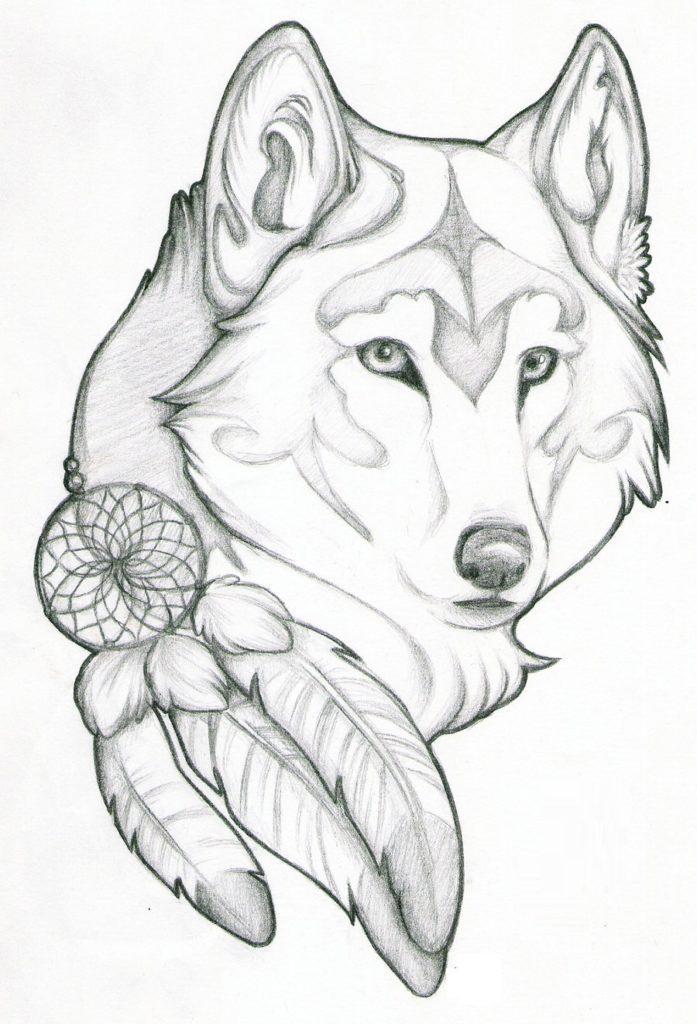 Картинки про собак карандашом - подборка (30)