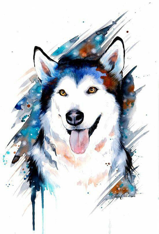Картинки про собак карандашом - подборка (5)