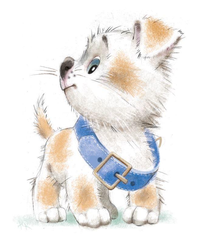 Картинки про собак карандашом - подборка (8)