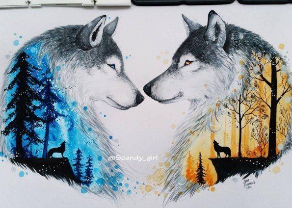 Картинки про собак карандашом - подборка (9)