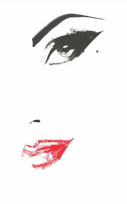 Картинки ресниц нарисованные - подборка (22)