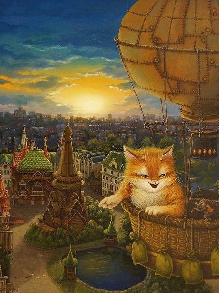 Картинки сказочного кота (1)