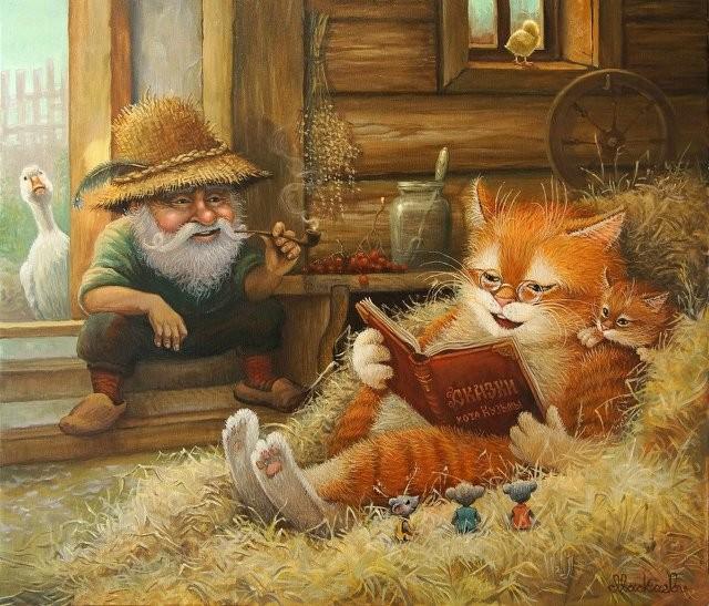 Картинки сказочного кота (11)