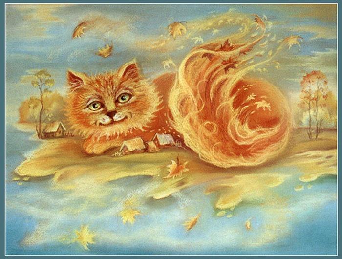 Картинки сказочного кота (12)