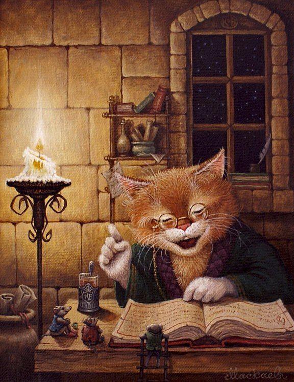 Картинки сказочного кота (13)