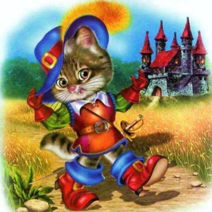 Картинки сказочного кота (14)
