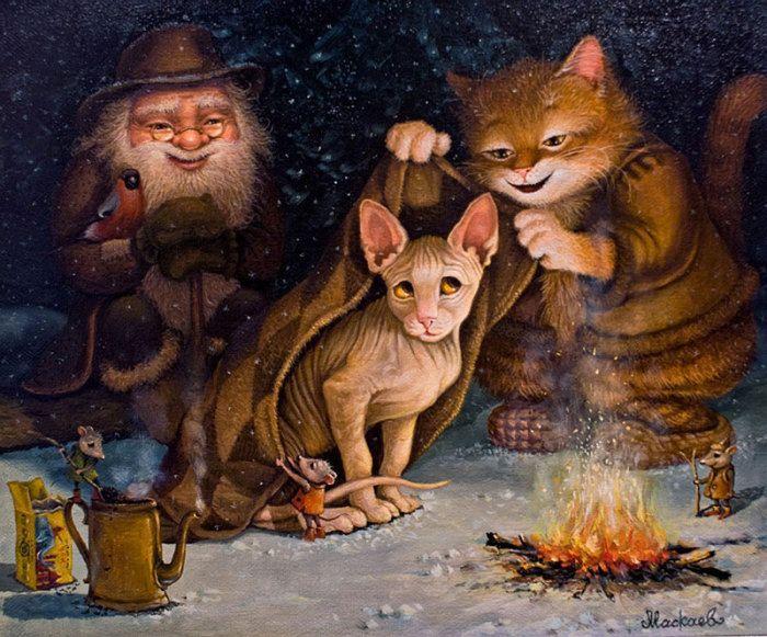 Картинки сказочного кота (17)