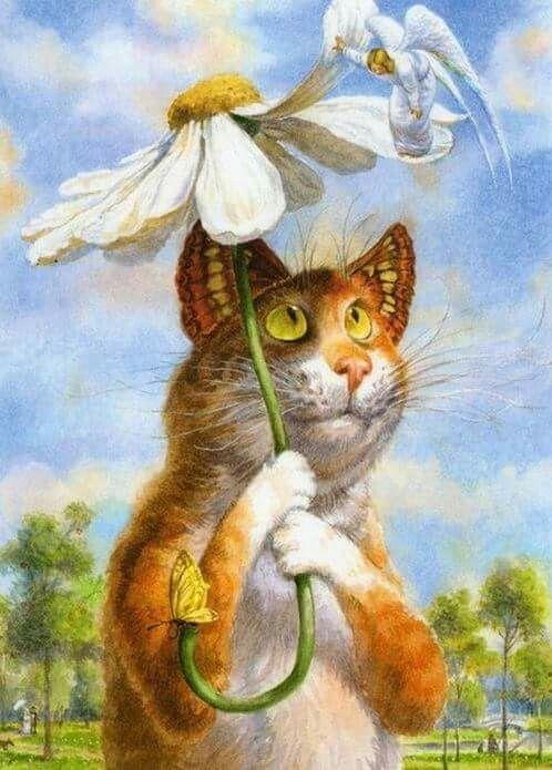 Картинки сказочного кота (2)