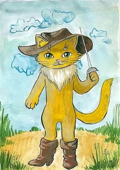 Картинки сказочного кота (3)