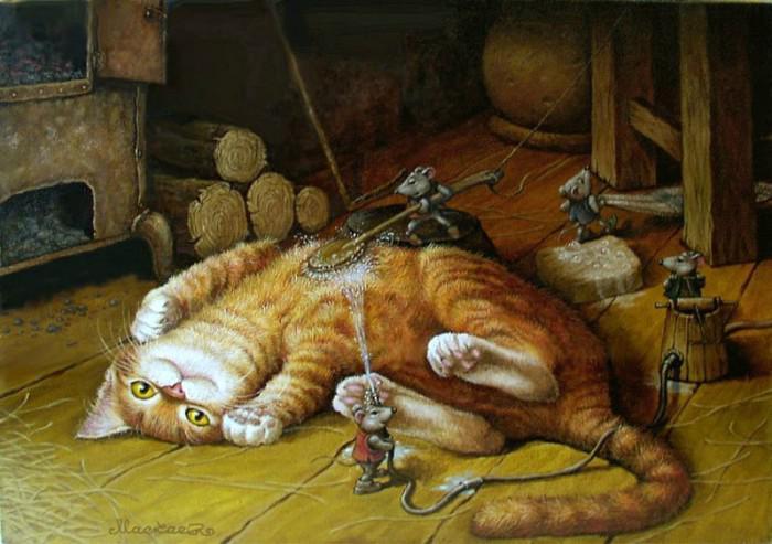 Картинки сказочного кота (6)