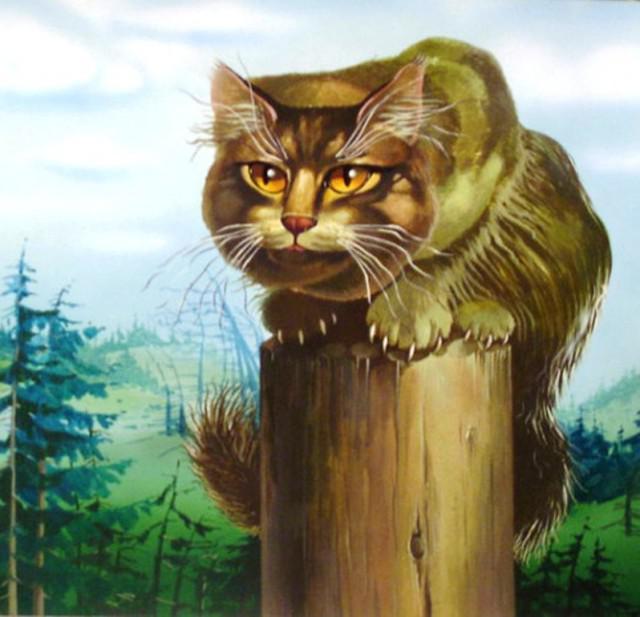 Картинки сказочного кота (8)