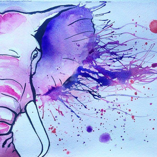 Картинки слон рисунок и картинки (16)
