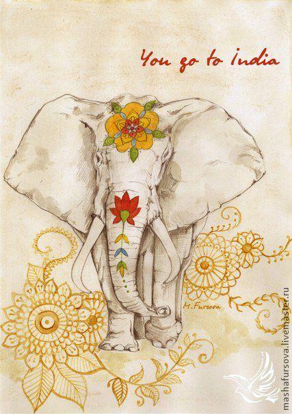 Картинки слон рисунок и картинки (23)