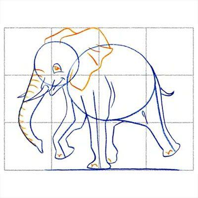 Картинки слон рисунок и картинки (8)