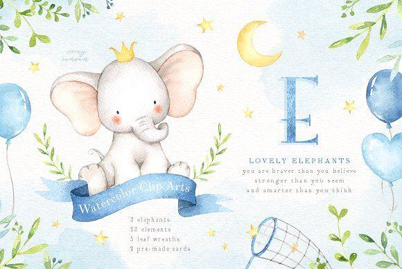 Картинки со слоном рисованные (9)